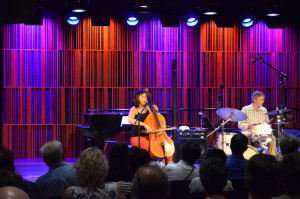 ASTC Members enjoyed an afternoon concert with jazz cellist Helen Gillet in the newly constructed Music at the Mint.  A lot of technology is installed in the room, including the ability to record all events.