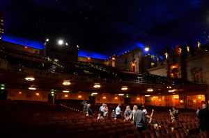 ASTC Members tour the renovated Saenger Theatre.  The original 1927 atmospheric theatre needed renovation even before Katrina arrived in 2009.  Members had an in-depth tour and description of the renovation process.